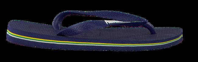 Blaue HAVAIANAS Zehentrenner BRASIL LOGO - large