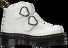 Weiße DR MARTENS Ankle Boots DEVON HEART  - small