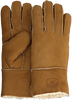 Cognacfarbene WARMBAT Handschuhe GLOVES WOMEN  - small