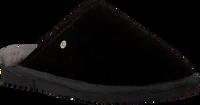 Schwarze WARMBAT Hausschuhe CLASSIC UNISEX SUEDE - medium