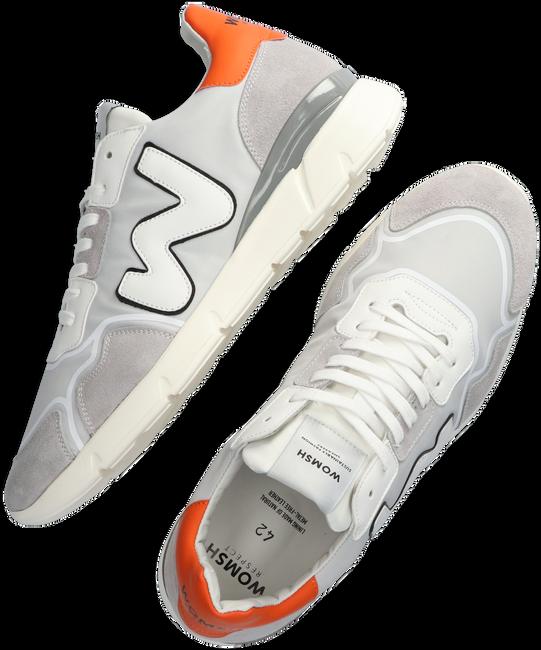 Graue WOMSH Sneaker low RUNNY HEREN  - large