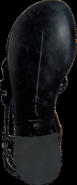 Silberne LOLA CRUZ Sandalen 071Z15BK - large
