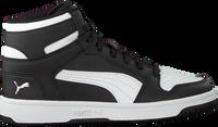 Schwarze PUMA Sneaker high REBOUND LAYUP SL JR  - medium