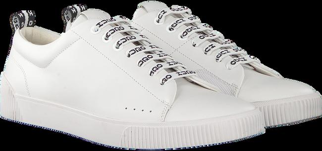 Weiße HUGO Sneaker ZERO_TENN_NARB  - large