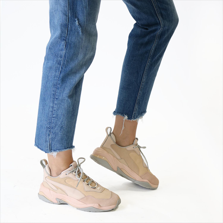 Beige PUMA Sneaker THUNDER DESERT | Omoda