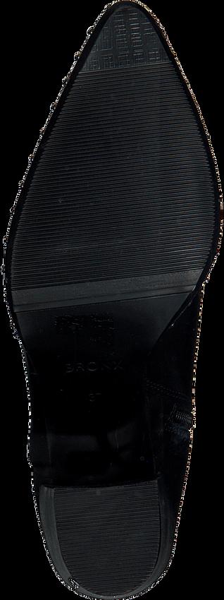 Schwarze BRONX Stiefeletten 34047 - larger