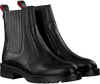Schwarze HABOOB Ankle Boots P6708  - small