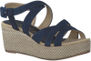 Blaue UNISA Sandalen KIKA - small