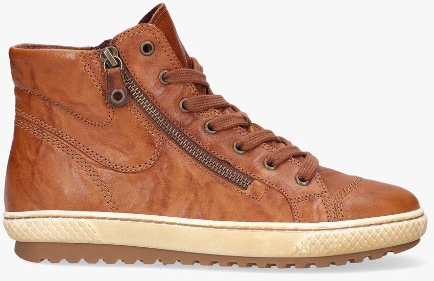 Cognacfarbene GABOR Sneaker 754  - larger