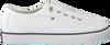 Weiße TOMMY HILFIGER Sneaker CORPORATE FLATFORM SNEAKER  - small