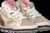 Goldfarbene SHOESME Babyschuhe BP20S002  - small