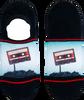 Mehrfarbige/Bunte XPOOOS Socken CASETTE TAP  - small