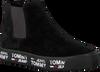 Schwarze TOMMY HILFIGER Chelsea Boots MID CITY SNEAKER - small