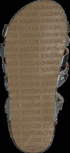 Silberne APPLES & PEARS Sandalen FORTUNA  - large