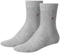 Graue TOMMY HILFIGER Socken TH CHILDREN SOCK TH BASIC 2P - medium