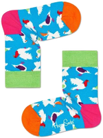 Weiße HAPPY SOCKS Socken KIDS PIGEON SOCK  - medium
