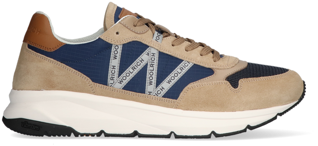 Beige WOOLRICH Sneaker high TRAIL RUNNER MAN CAMOSCIO  - large