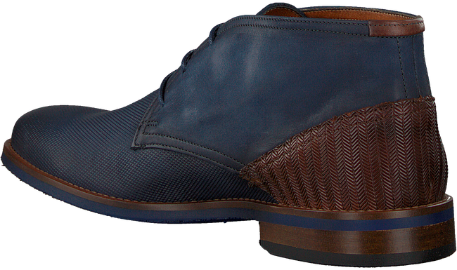 Blaue VAN LIER Business Schuhe 1915315  - large