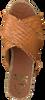 Cognacfarbene KANNA Pantolette 20191  - small