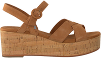 Cognacfarbene TOMS Sandalen WM WILLOW WDGE  - medium