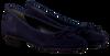 Blaue PAUL GREEN Ballerinas 3102 - small