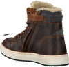 Braune VINGINO Sneaker SIL MID FUR - small