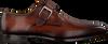 Cognacfarbene MAGNANNI Business Schuhe 23040  - small