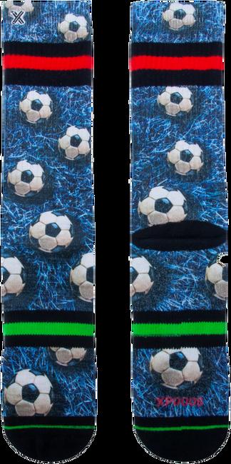 Mehrfarbige/Bunte XPOOOS Socken SOCCER FIELD  - large