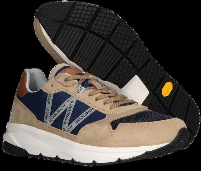 Beige WOOLRICH Sneaker high TRAIL RUNNER MAN CAMOSCIO  - large