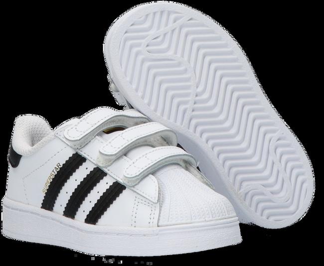 Weiße ADIDAS Sneaker low SUPERSTAR CF I  - large