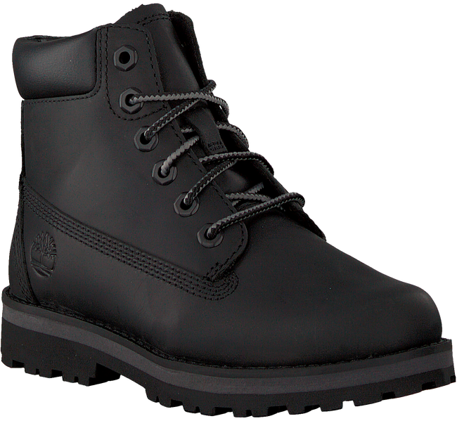 Schwarze TIMBERLAND Schnürboots COURMA KID TRADITIONAL 6 INCH  - large