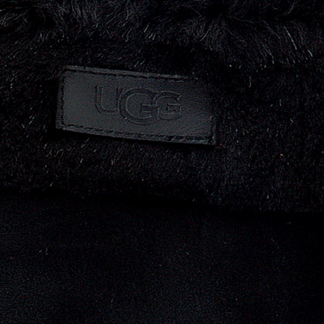 Schwarze UGG Handschuhe TURN CUFF GLOVE  - large