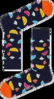 Mehrfarbige/Bunte HAPPY SOCKS Socken WATERMELON  - medium