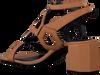 Cognacfarbene NOTRE-V Sandalen BZ0306X  - small