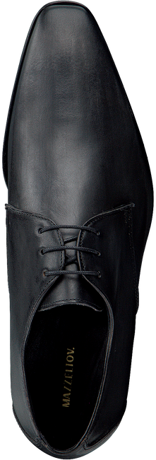 Schwarze MAZZELTOV Business Schuhe 3753  - large
