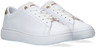 Weiße TOMMY HILFIGER Sneaker low METALLIC LEATHER CUPSOLE  - small