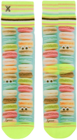 Mehrfarbige/Bunte XPOOOS Socken MACARONS  - medium