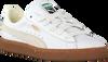 Weiße PUMA Sneaker BASKET CLASSIC GUM DELUXE JR - small