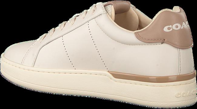 Beige COACH Sneaker low ADB LEATHER-SUEDE LOW TOP  - large