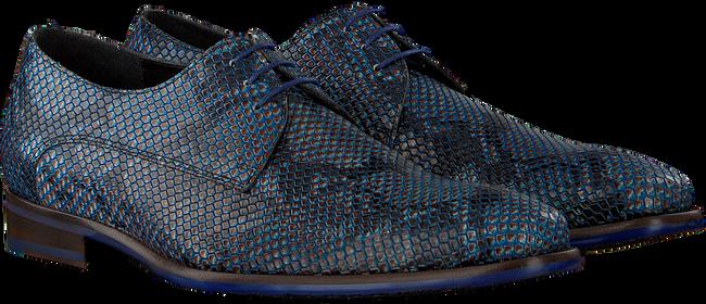 Blaue FLORIS VAN BOMMEL Business Schuhe 18159  - large