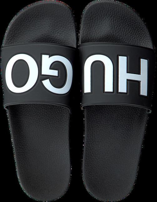 Schwarze HUGO Pantolette TIMEOUT_SLIP_RBLG  - large