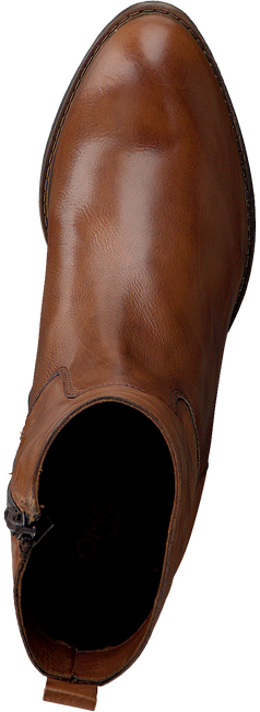 Cognacfarbene OMODA Stiefeletten 8365  - large