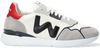 Weiße WOMSH Sneaker low RUNNY HEREN  - small