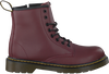 Rote DR MARTENS Schnürboots DELANEY/BROOKLY - small