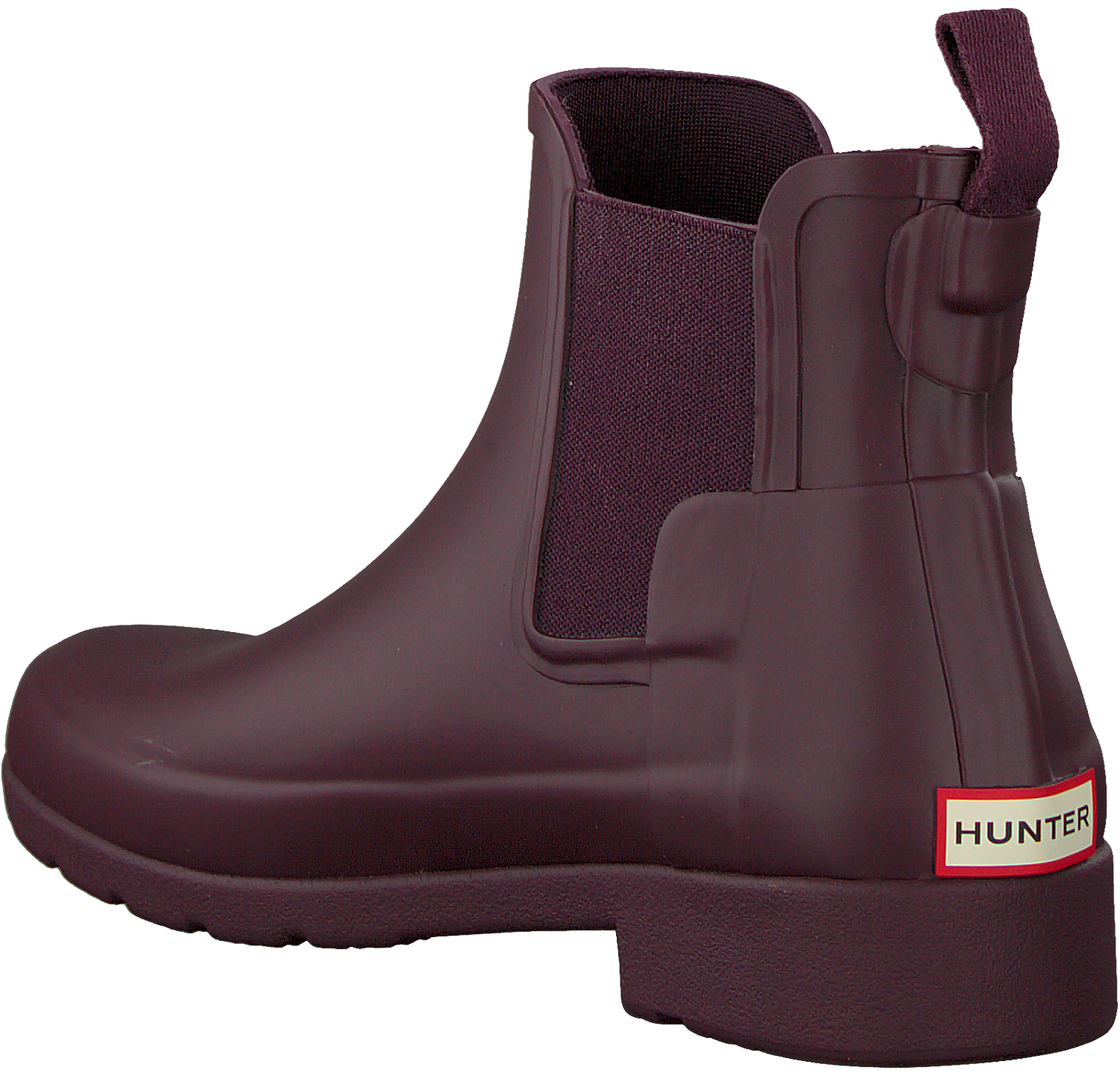 on sale 279ee 094ce Rote HUNTER Gummistiefel ORIGINAL REFINED CHELSEA - Omoda