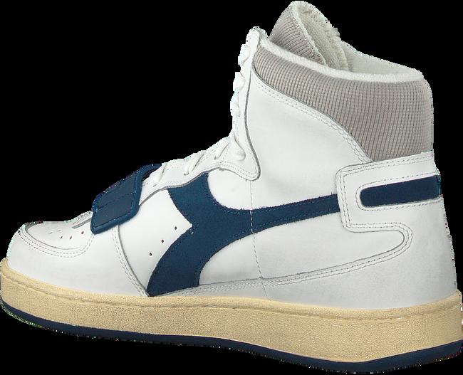 Weiße DIADORA Sneaker high MI BASKET USED  - large
