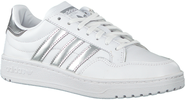 Weiße ADIDAS Sneaker low TEAM COURT W  - large