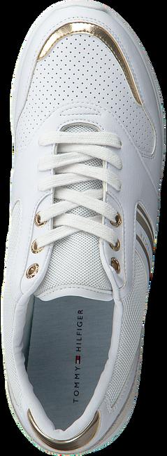 Weiße TOMMY HILFIGER Sneaker low METALLIC LIGHTWEIGHT  - large