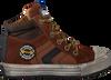 Cognacfarbene DEVELAB Sneaker high 41631  - small