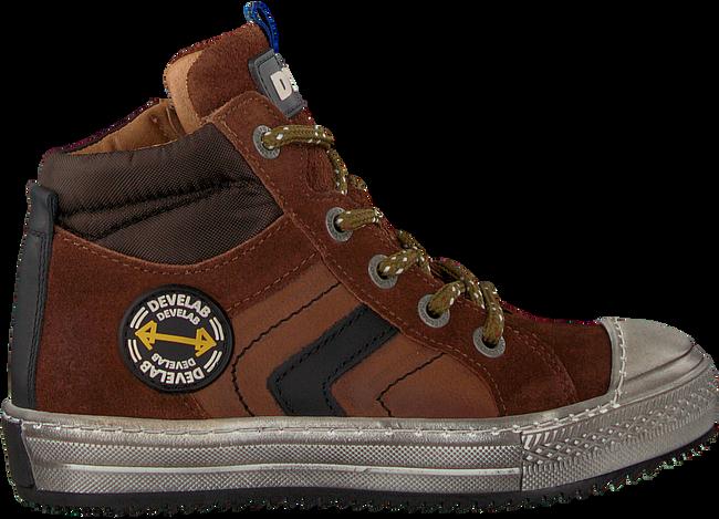 Cognacfarbene DEVELAB Sneaker high 41631  - large